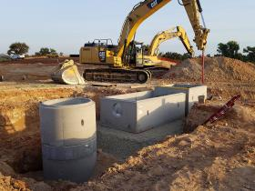 Waste Water Treatment Facility Construction