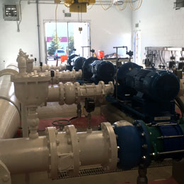 booster pump stations